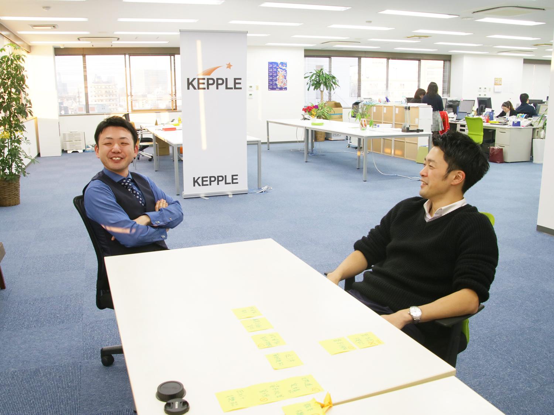 Kepple会計事務所_神先氏と三浦氏